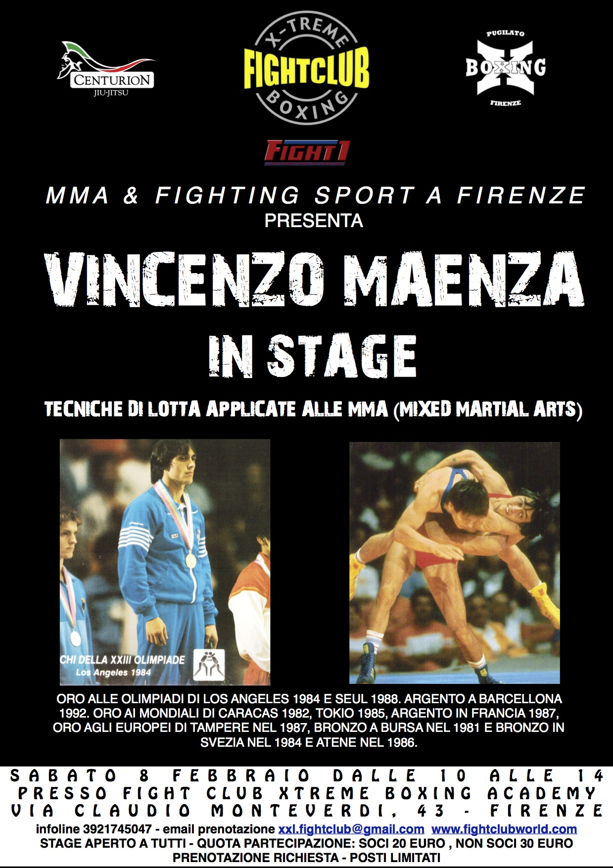 STAGE VINCENZO MAENZA 8FEB14